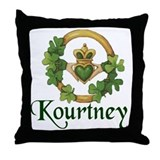 Kourtney's Throw Pillow