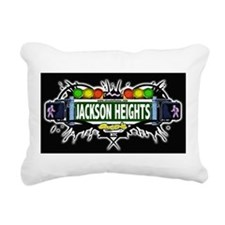 Jackson Heights Queens NYC (Black) Rectangular Can