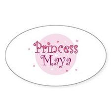 Maya Oval Decal