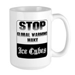 Stop Global Warming Large Mug