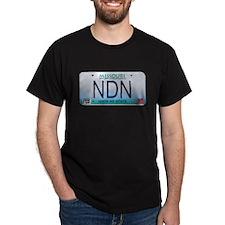 Missouri NDN license plate T-Shirt
