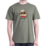 I Heart Love Sock Monkey Monkeys T-Shirt