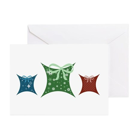 Pretty Presents Greeting Cards (Pk of 10)