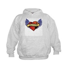 Mother Heart Tattoo Hoodie