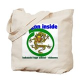 Dragon Inside Tote Bag