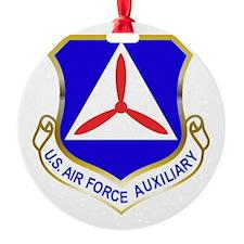 Civil Air Patrol Shield Round Ornament