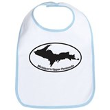 Upper Peninsula Oval Bib