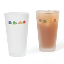 Snail Party Drinking Glass