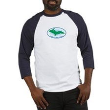 Upper Peninsula Oval Baseball Jersey