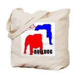 USA Bulldog Tote Bag