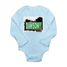 New Section Long Sleeve Infant Bodysuit