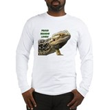 Proud Beardie Lover Long Sleeve T-Shirt