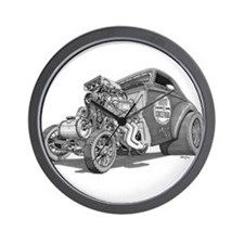 Old School Gasser Wall Clock