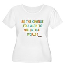 Be The Change Plus Size T-Shirt