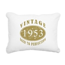 1953 Birthday Vintage Rectangular Canvas Pillow
