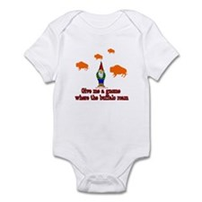 Give me a Gnome Where The Buf Infant Bodysuit