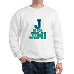 J is for Jimi Sweatshirt