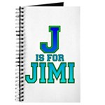 J is for Jimi Journal