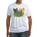 Feather-legged Bantams Fitted T-Shirt