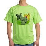 Feather-legged Bantams Green T-Shirt