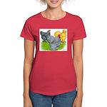 Feather-legged Bantams Women's Dark T-Shirt