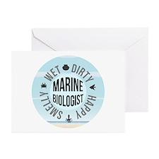 Marine Biologist Greeting Cards (Pk of 20)