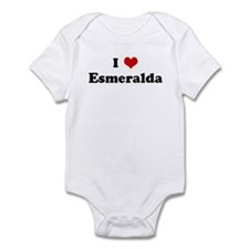 I Love Esmeralda Infant Bodysuit