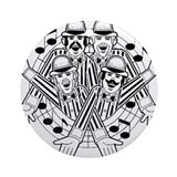 barbershop quartet Ornament (Round)
