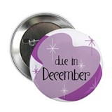 "Due In December Retro 2.25"" Button"