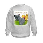 Feather-leg Trio Kids Sweatshirt
