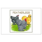 Feather-leg Trio Large Poster