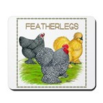 Feather-leg Trio Mousepad