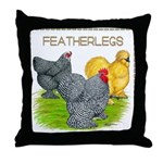 Feather-leg Trio Throw Pillow