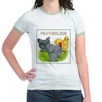 Feather-leg Trio Jr. Ringer T-Shirt