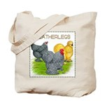 Feather-leg Trio Tote Bag