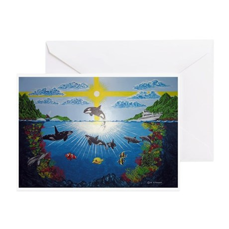 Orca Reef Greeting Cards (Pk of 10)