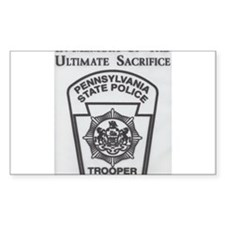 Helping Pennsylvania State Police Decal