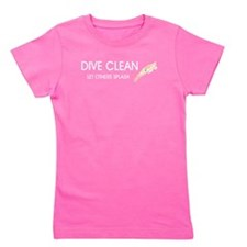TOP Dive Clean Girl's Tee