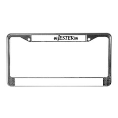 Jester License Plate Frame