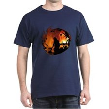 Firefighter Circle of Flames T-Shirt