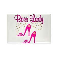 BOSS LADY Rectangle Magnet (100 pack)