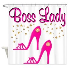 BOSS LADY Shower Curtain