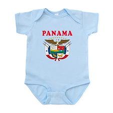 Panama Coat Of Arms Designs Infant Bodysuit