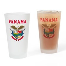 Panama Coat Of Arms Designs Drinking Glass