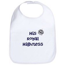 His Royal Highness Baby Bib