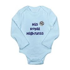 His Royal Highness Baby Body Suit