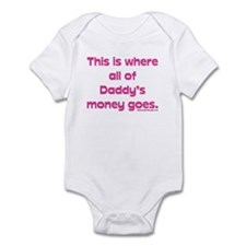 This is where all of my daddy Infant Bodysuit