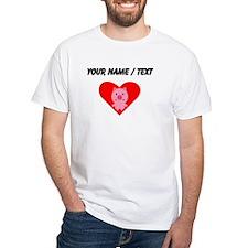 Cartoon Pig Heart T-Shirt