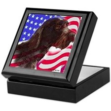 gwp with flag Keepsake Box