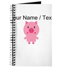 Cartoon Pig Journal